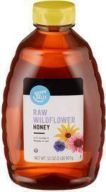 Amazon Brand - Happy Belly 32oz Raw Wildflower Honey