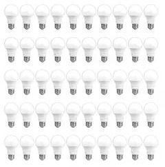 AmazonCommercial 40W Equivalent A19 LED Light Bulbs, 50pk