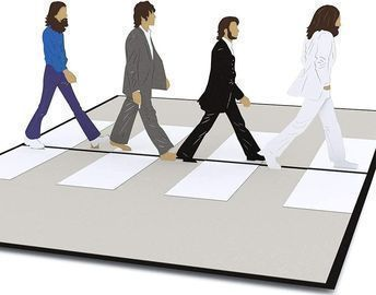 Lovepop The Beatles Abbey Road Pop Up Card + $10 Prime Day Discount