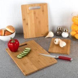 Birch Lane Sachar 3pc Bamboo Cutting Board Set