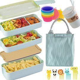 16pc Bento Box Japanese Lunch Box Kit