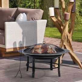 Youngtown Steel Wood Burning Outdoor Fire Pit