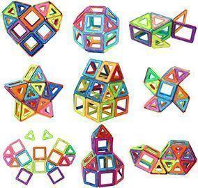Magnetic Tiles Building Blocks Toys, 40pc