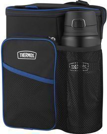 Thermos Lunch Cooler and King Stainless Bottle Combination Set