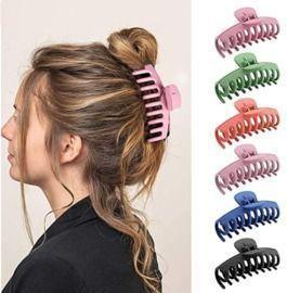Hair Claw Clips - 6 Pcs