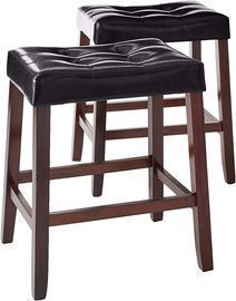 Crown Mark Kent Saddle Chair 2-Set