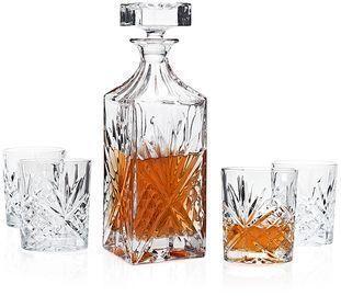 Godinger Dublin 5pc Whiskey Set