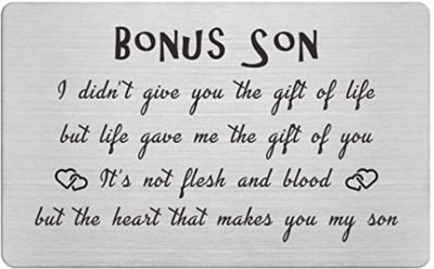 Bonus Son Card