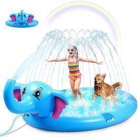 Juoifip Sprinkler Splash Pad for Kids