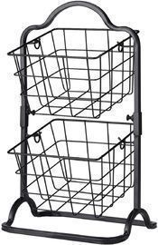 2-Tier Mini Kitchen Countertop Rack