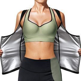 Sauna Sweat Vest Waist Trainer Suit