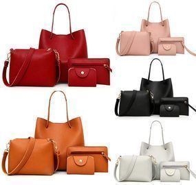 4 PCS Tote Bags Set