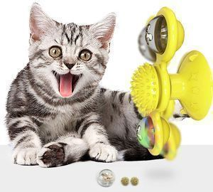 Windmill Cat Toy for Indoor Cats