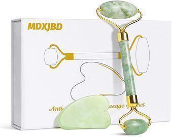 Jade Roller Gua Sha Massage Tool Set