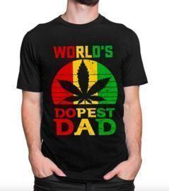 World's Dopest Dad T-Shirt
