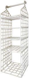 Hanging Closet Shelves Organizer Basket