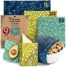 Beeswax Wraps 9 Packs