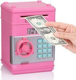 Piggy Bank Electronic Money Coin Bank