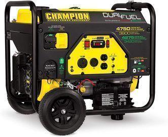 Champion Power Equipment 3800W Dual Fuel RV Ready Portable Generator