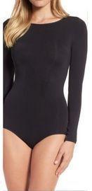DKNY Women's Jersey Long Sleeve Bodysuit