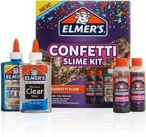 Elmers Confetti Slime Kit