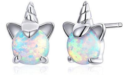 Unicorn Opal Earrings