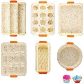18in 1 Silicone Baking Molds