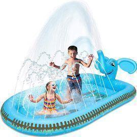 in 1 Inflatable Sprinkler Pool Water Park for Kids