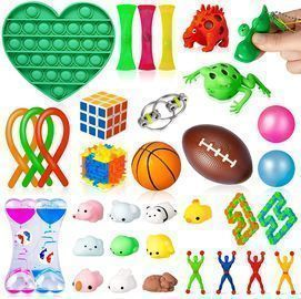 34 Pack Sensory Fidget Toys Set
