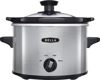 Bella 1.5-qt. Slow Cooker (Stainless Steel)