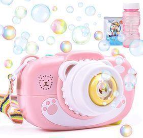 Camera Bubble Machine for Kids