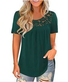 T Shirts Solid Color Print