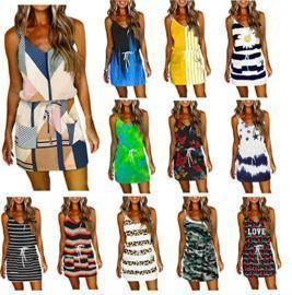 Sleeveless Sling Dress