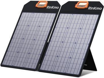 100W Portable Solar Panels Battery Charger with Light Strength Sensor