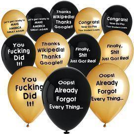 Balloons Graduation Decorations