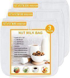 Nut Milk Bags -3 pack