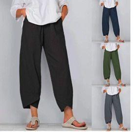 Summer Casual Linen Pants