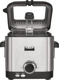 Bella Pro Series 1.6qt Deep Fryer, Stainless Steel