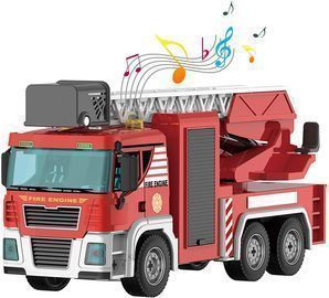 Take Apart Friction Powered Fire Truck