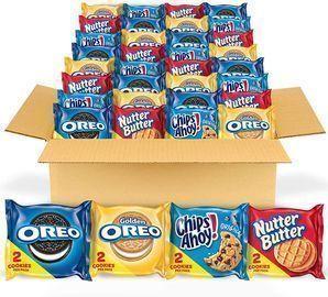 Nabisco Cookie Snacks Variety Pack 56-Ct.