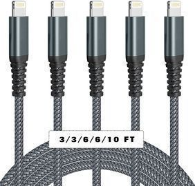 iPhone Charger Cables- 5Pack
