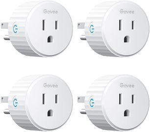 4PK Govee Smart Plugs works w/Alexa & Google Assistant