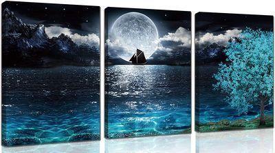Moon Wall-Art