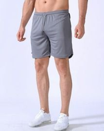 2-in-1 Workout Running Shorts
