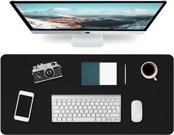 Dual-Sided Office Desk Mat