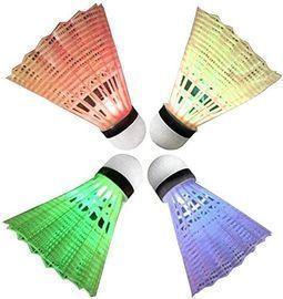 4 Pack LED Badminton Shuttlecocks