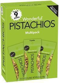 Wonderful Pistachios 0.75-oz. Shelled Pistachios 9-Pack