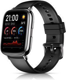 Smart Watch With Body Temperature & Monitor Fitness Tracker