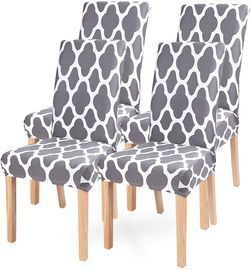Dining Room Chair Covers-Set of 4