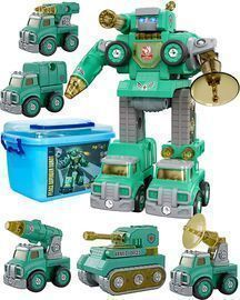 5 in 1 Take Apart Trucks Transformers